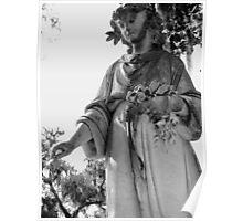 Bonaventure Cemetery Tombstone Poster