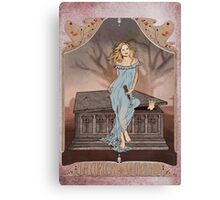 Boticelli Buffy Nouveau Canvas Print