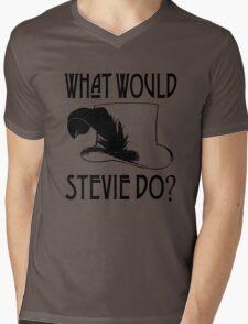 WHAT WOULD STEVIE NICKS DO Mens V-Neck T-Shirt
