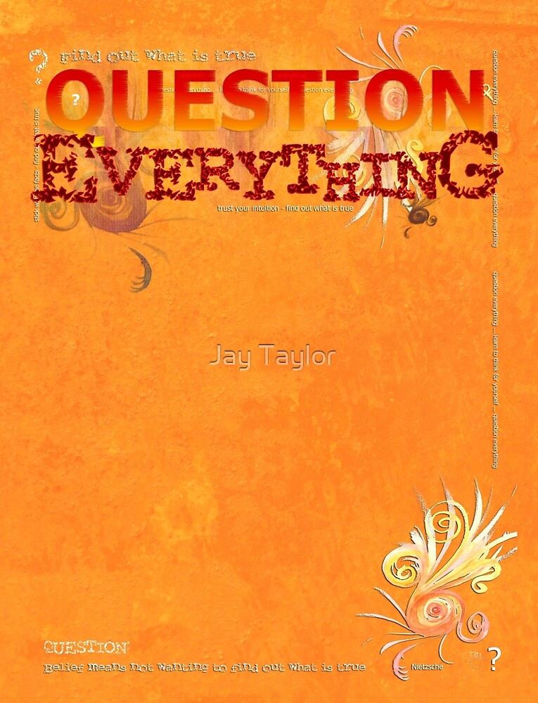 Question Everything by Jay Taylor