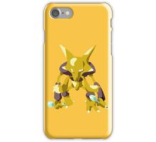 Alakazam Pokemon Simple No Borders iPhone Case/Skin