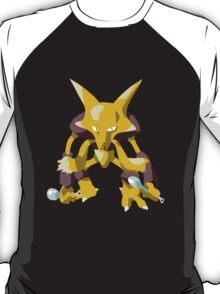 Alakazam Pokemon Simple No Borders T-Shirt