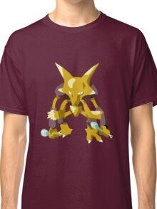 Alakazam Pokemon Simple No Borders Classic T-Shirt