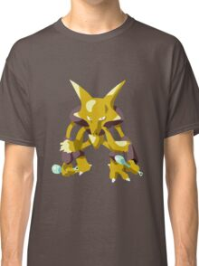 Alakazam Pokemon Simple No Borders Classic T-Shirt