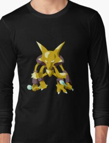 Alakazam Pokemon Simple No Borders Long Sleeve T-Shirt