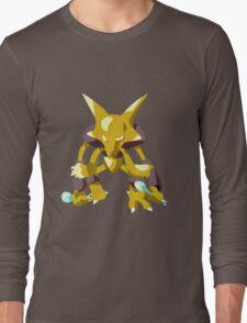Alakazam Pokemon Simple No Borders Long Sleeve T-Shirt