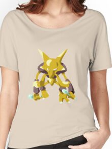 Alakazam Pokemon Simple No Borders Women's Relaxed Fit T-Shirt