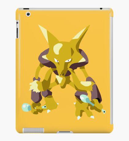 Alakazam Pokemon Simple No Borders iPad Case/Skin