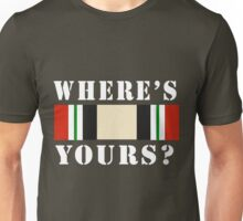 Where's Yours? Unisex T-Shirt