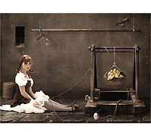 Doll ( her life ) Photographic Print