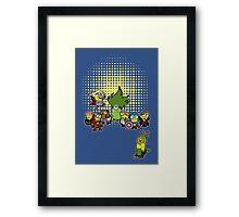Assemble Minions Framed Print