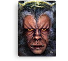The Werewolf Curse Canvas Print