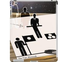 THE FLAT MESSIAH iPad Case/Skin