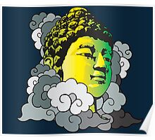 Buddha in the Clouds Poster