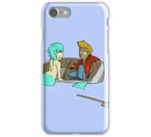 Should I Tip the Boat Further? iPhone Case/Skin