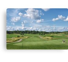 Timber Pointe Golf Course Canvas Print
