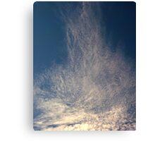 Wind sheer Canvas Print