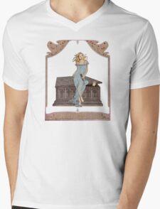 Boticelli Buffy Nouveau Mens V-Neck T-Shirt