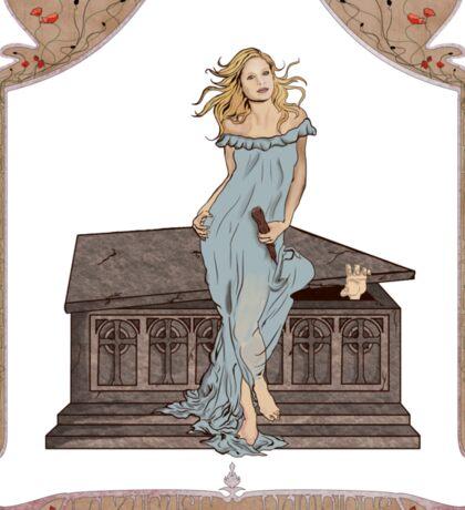 Boticelli Buffy Nouveau Sticker