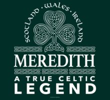 Meredith, A True Celtic Legend by Albany Retro