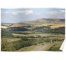 Cuckmere Valley, South Coast of England Poster