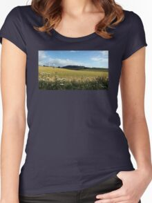 A Day In The Country Women's Fitted Scoop T-Shirt