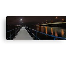 New Mount Henry Bridge Jetty - Western Australia  Canvas Print