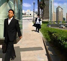 Two suits One world - Beijing - Jerusalem by maurolandau
