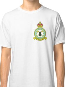 75(NZ) Squadron RAF Full Colour crest (small) Classic T-Shirt