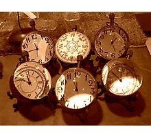 Shadows Of Time Photographic Print