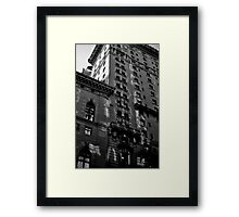 A Look at an Old New Yorker Framed Print