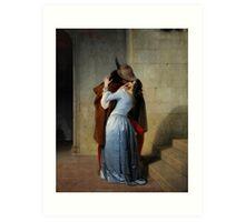 The Kiss by Francesco Hayez Art Print