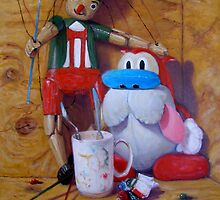 Friends #2: Pinocchio and Stimpy by Donelli J.  DiMaria