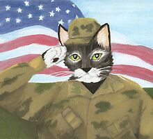 US Army Cat by TaraFlyPhotos