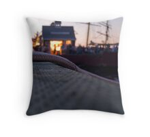 Waiting for Fireworks! Throw Pillow