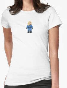 LEGO Invisible Woman / Sue Storm Womens Fitted T-Shirt
