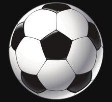 Telstar football ball by JoAnnFineArt