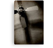 born to be propeller Canvas Print