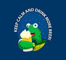 Keep Calm and Drink More Beer! by Emir Simsek