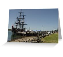 HMB Endeavour Port Macquarie III Greeting Card
