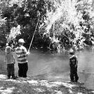 Gone Fishin' by Heather Rampino