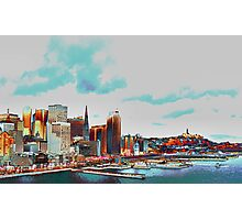 A Colorful San Francisco Photographic Print