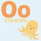 O is for Octopus by Amy Huxtable