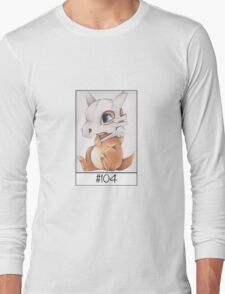 Cubone, lonely pokemon Long Sleeve T-Shirt