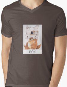 Cubone, lonely pokemon Mens V-Neck T-Shirt