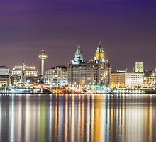 The Liverpool Waterfront by Paul Madden