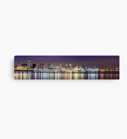 The Liverpool Waterfront Canvas Print