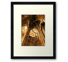 John Rylands Library Framed Print