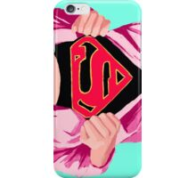 Girl, you're super iPhone Case/Skin