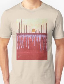 Cattails original painting Unisex T-Shirt